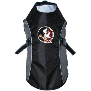 PEAPYW9 Florida State Seminoles Water Resistant Reflective Jacket