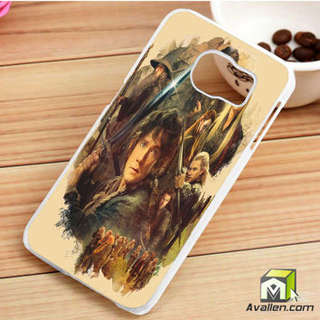 The Hobbit Desolation Of Smaug Samsung Galaxy S6 Edge Case by Avallen