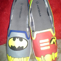 Batman and Robin Shoes
