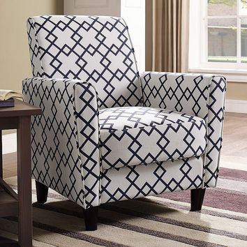 Henry Geometric Arm Chair