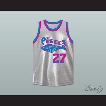 Set Shot 27 Pittsburgh Pisces Basketball Jersey The Fish That Saved Pittsburgh