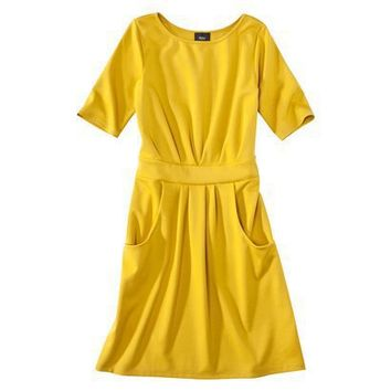 Target:Mossimo?- Women's Elbow Sleeve Ponte Dress...