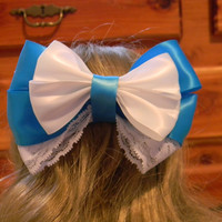 Little Town Belle Inspired Disney Bow by JordansBowtique on Etsy
