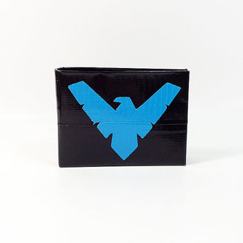 Nightwing Batman Duct Tape Wallet or Women's Clutch
