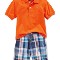 Nautica Baby Boys' 2-Piece Polo & Shorts Set