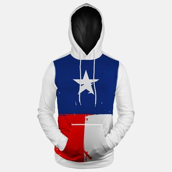 Texas Beast State Flag Hoodie (Ships in 2 Weeks)