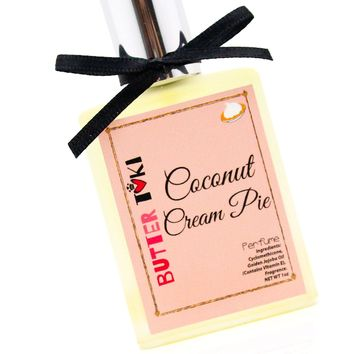 COCONUT CREAM PIE Fragrance Oil Based Perfume 1oz