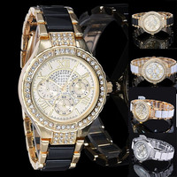 Best Price! Women Rhinestone Watches, Crystal Ladies Quartz Diamond Watches, Luxury Women Dress Watches Dropshipping B2 SV005649 = 5617692417