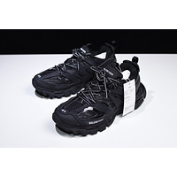 Top Quality Balenciaga 2020 Popular Women Men Casual Pure Black White Letter Sport Running Jogging Shoes Couple Sneakers