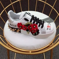 D&G Dolce&Gabbana Leisure thick bottom Gym shoes