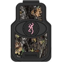 Browning Mossy Oak Break-up Camo & Pink Buckmark Floor Mats