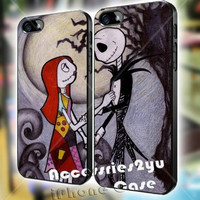 The Nightmare Before Christmas Together Forever Love Couple 2 iPhone Case And Samsung Galaxy Case
