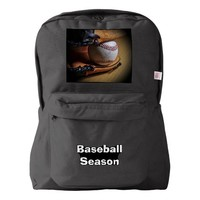 BackPack: Baseball Season Backpack
