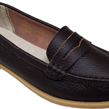 women's cognac penny loafer moccasins Case of 12