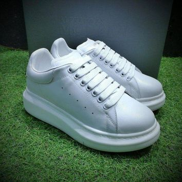 DCCKU62 Sale Alexander McQueen Sole Sneakers White