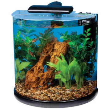 MARINELAND® Half-Moon Desktop Aquarium | Aquariums | PetSmart