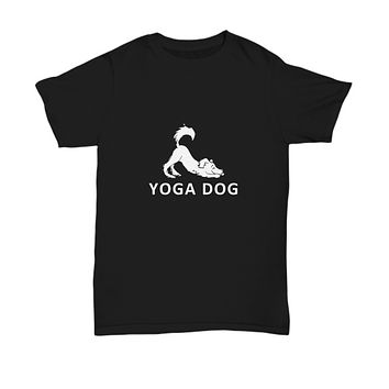 Yoga Dog Downward Dog Pose Funny T-Shirt