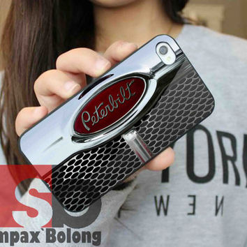 Truck, Peterbilt, Heavy Duty for Samsung S3, S4 and iPhone 4/4S, 5/5S, 5C - Hard Plastic Case, Rubber Case