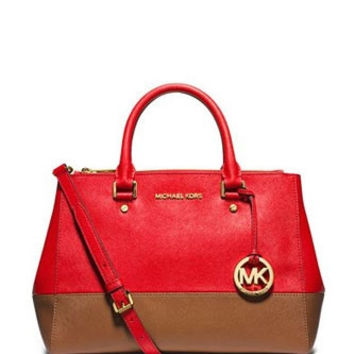 Michael Michael Kors Medium Sutton Satchel