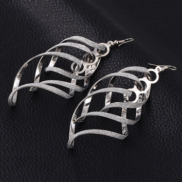 Stylish Punk Strong Character Twisted Earring Accessory Earrings [6058275713]