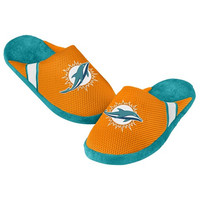 Miami Dolphins Official NFL Jersey Slippers