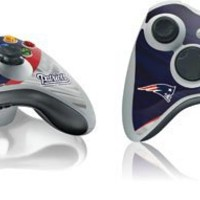NFL - New England Patriots - New England Patriots - Skin for 1 Microsoft Xbox 360 Wireless Controller