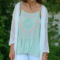 Summer Knit Cardigan