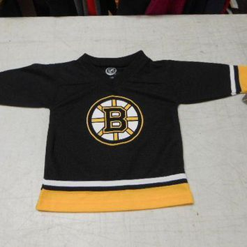 DCCKU3N NHL Toddler Boys' Boston Bruins Jersey, Black/Yellow, 2T