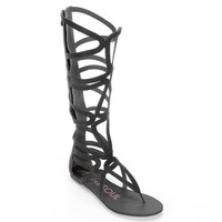 HeartSoul Cleopatra Tall Gladiator Sandals - Women