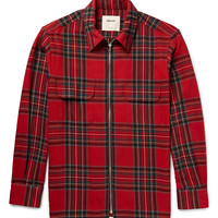 Noon Goons - Zippo Checked Cotton and Wool-Blend Flannel Shirt