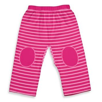 i play.® Brights Organic Cotton Yoga Pants in Pink Stripe