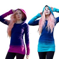 Brand New Awesome Gradient Color Pullovers Shirts, Sexy! All Sizes