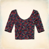 Tamarack Slim Crop Top