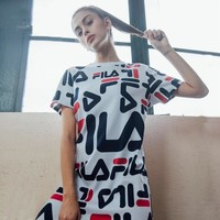FILA Full LOGO Short T Dress