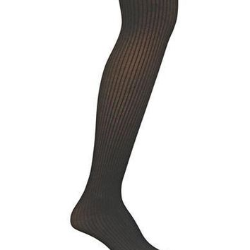 Ralph Lauren Opaque Ribbed Tights