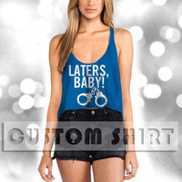 handcuffs LOVE laters baby Women Crop Tank -144 Tanktop For Men  / Custom - Tanktop / Men Tanktop