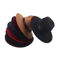 Vintage Knight Wool Wide Brim Bowler Retro Fedora