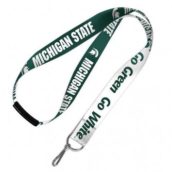 NCAA Michigan State Spartans Two-Tone Breakaway Lanyard