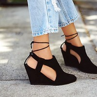 Jeffrey Campbell + Free People Womens Sidewinder Wedge