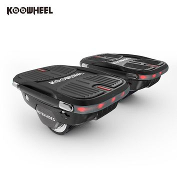 2018 Koowheel Electric Sakteboard Hovershoes Self Balancing Small Smart hoverboard Portable Electric Hover Roller Skates Shoes