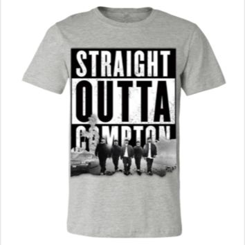 STRAIGHT OUTTA COMPTON - Unisex T-shirt from teesgames ...