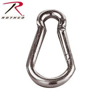 G.I. Style 80mm Carabiner (6kn Test Strength)