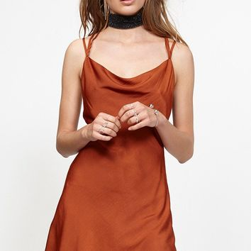 Pathways Bias Slip Dress