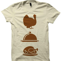 Thanksgiving Gift Turkey Dinner T Shirt T Shirt Ladies Tops Unisex Tee Tees Holiday Art Thankgiving Kids Shirt Womens Mens Clothes Gobble