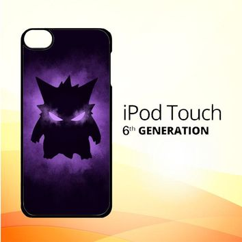 Pokemon Gengar X4495 iPod Touch 6 Case