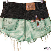 The Magdalene High-Waisted Shorts from ShopWunderlust