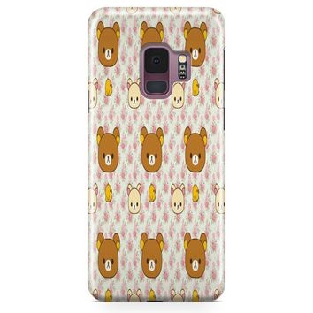 Cute Bear Rilakkuma Samsung Galaxy S9 Case | Casefantasy
