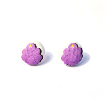 Handmade Lumpy Space Princess Adventure Time Earrings or Necklace Variation available
