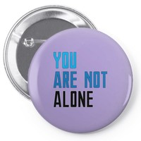 you are not alone   dear evan hansen Pin-back button