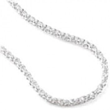 50 mm Sterling Silver Rope Chain